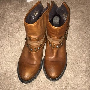 Steve Madden Real Leather Booties